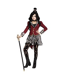 Ringmistress Little and Big Girls Costume