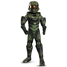 Halo Prestige Master Chief Costume For Big Boys