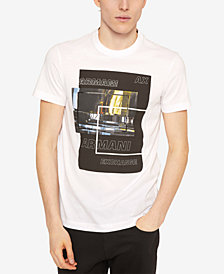 A|X Armani Exchange Men's Blocked Graphic T-Shirt