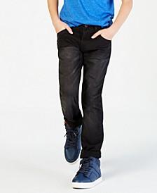 Regular-Fit Wrecker Stretch Jeans, Big Boys