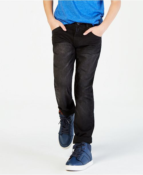 Tommy Hilfiger Regular-Fit Wrecker Stretch Jeans, Big Boys