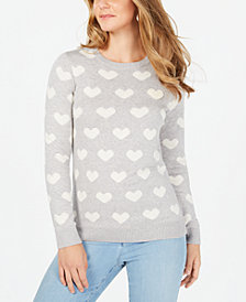 Charter Club Scottie Dog-Print Sweater, Created for Macy's
