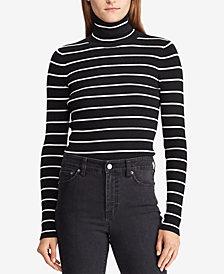 Lauren Ralph Lauren Lurex Turtleneck Sweater