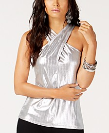 INC Crisscross Halter Top, Created for Macy's