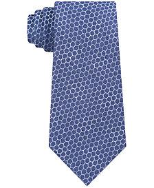 Calvin Klein Men's Honeycomb Neat Slim Tie