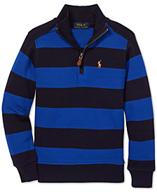 Polo Ralph Lauren Toddler Boys Striped Cotton Pullover