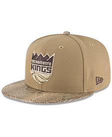 New Era Sacramento Kings Snakeskin Sleek 59FIFTY FITTED Cap