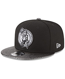 New Era Boston Celtics Snakeskin Sleek 9FIFTY Snapback Cap