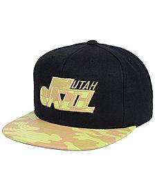Mitchell & Ness Utah Jazz Natural Camo Snapback Cap