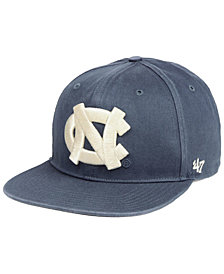 '47 Brand North Carolina Tar Heels Navy Go Shot Captain Snapback Cap