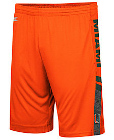 Colosseum Men's Miami Hurricanes Perfect Season Shorts