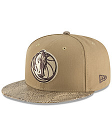 New Era Dallas Mavericks Snakeskin Sleek 59FIFTY FITTED Cap