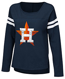 Touch by Alyssa Milano Women's Houston Astros Free Agent Long Sleeve T-Shirt