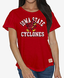 Retro Brand Women's Iowa State Cyclones Rolled Sleeve T-Shirt