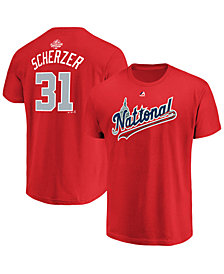 Majestic Men's Max Scherzer Washington Nationals All Star Game Player T-Shirt 2018