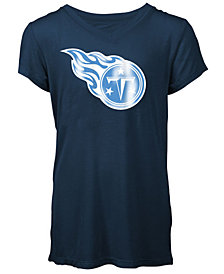 5th & Ocean Tennessee Titans Logo T-Shirt, Girls (4-16)