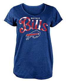 5th & Ocean Women's Buffalo Bills Script Logo T-Shirt
