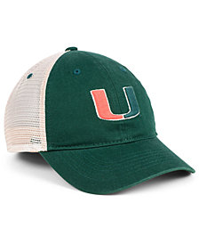 Zephyr Miami Hurricanes University Mesh Cap