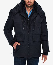 S13 Men's Ashton Hooded Water Resistant Parka