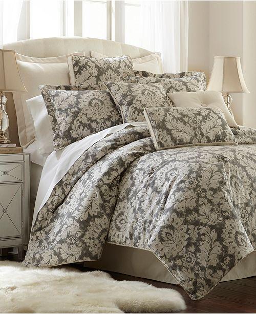 Austin Horn Classics Sherry Kline Wellington 3-Piece Comforter Set, Queen