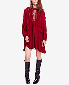 Free People Venice Cotton Crochet Mini Dress
