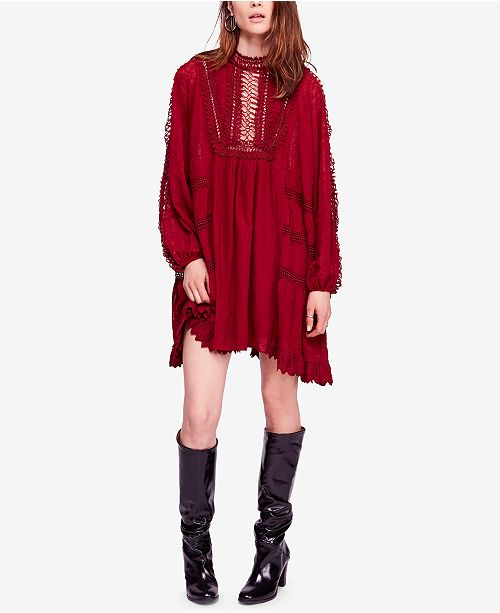a4338322c243d Free People Venice Cotton Crochet Mini Dress & Reviews - Dresses ...