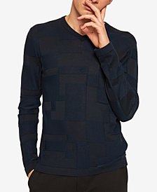 A|X Armani Exchange Men's Textured Sweater
