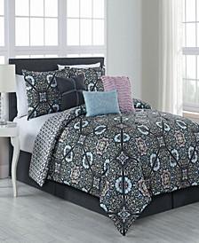 Etta 7 Pc King Comforter Set