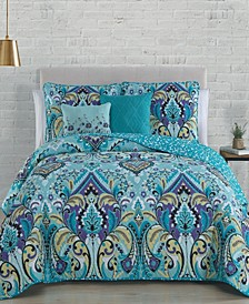 Misha 5 Pc Queen Quilt Set