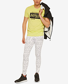 A|X Armani Exchange Men's Graffiti Logo T-Shirt