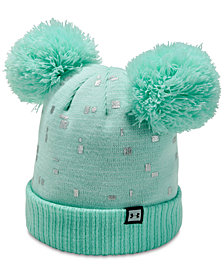 Under Armour Big Girls Double-Pom Beanie Hat