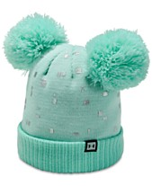 bc8b10cab19 Under Armour Big Girls Double-Pom Beanie Hat