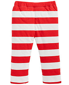 First Impressions Baby Boys & Girls Reversible Striped Pants, Created for Macy's