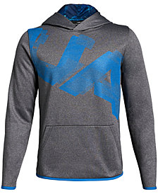 Under Armour Big Boys Highlight Logo-Print Hoodie