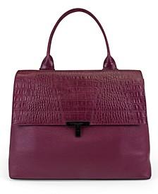 Reese Pebble Leather Shopper