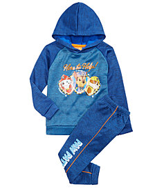 Nickelodeon Little Boys Paw Patrol 2-Pc. Hoodie & Joggers Set