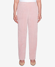 Alfred Dunner Home For The Holidays Corduroy Pull-On Pants