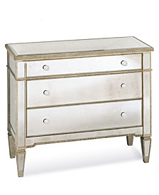 Marais 3 Drawer Mirrored Chest