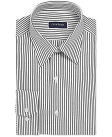 Club Room Men's Regular-Fit Stripe Dress Shirt, Created For Macy's
