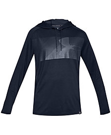 Under Armour Men's Lighter Longer Logo Hoodie