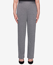 Alfred Dunner Sutton Place Pull-On Straight-Leg Pants