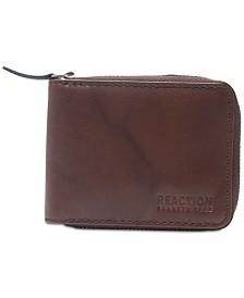 Kenneth Cole Reaction Men's Zip Leather Wallet