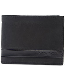 Kenneth Cole Reaction Men's Sibley Leather Passcase Wallet