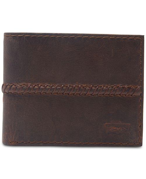 Levi's Men's Extra-Capacity Slimfold Wallet