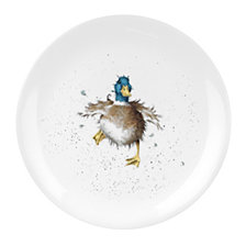 "Portmeirion Wrendale  Duck Plate, ""Waddle and a Quack"" - Set of 4"