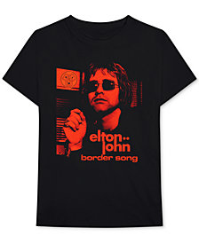 Elton John Border Song Men's Graphic T-Shirt
