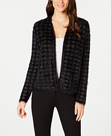 Alfani Eyelash Cardigan, Created for Macy's