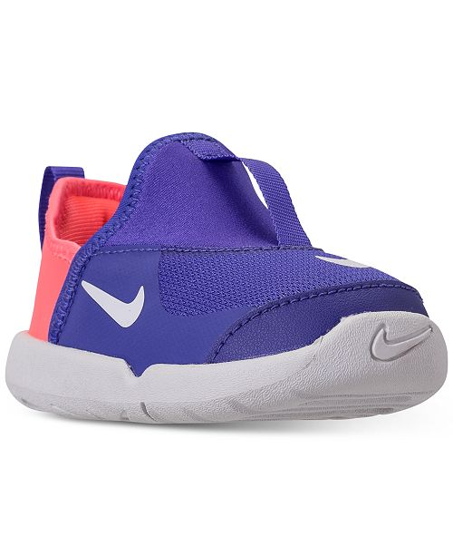 fe930e91d9fa7 Nike Toddler Girls  Lil  Swoosh Athletic Sneakers from Finish Line ...