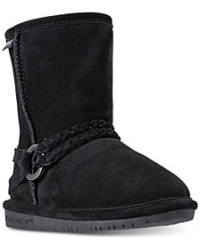 BEARPAW Adele Boots, Little Girls (11-3) & Big Girls (3.5-7)