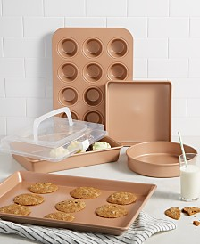 Martha Stewart Collection Nonstick Champagne Open Stock Bakeware Collection, Created for Macy's